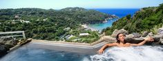 Jacuzzi panoramic view- San Montano Resort & Spa Ischia