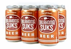 Oklahoma Suks beer hits shelves this week