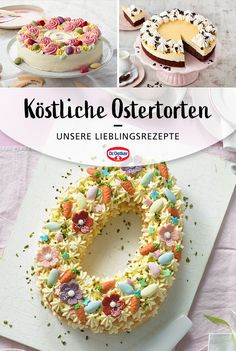 Best Dessert Recipes, Fun Desserts, Sweets Cake, Cupcake Cakes, Meringue Desserts, Mary Recipe, Cake Decorating Tips, Easter Treats, Easter Recipes