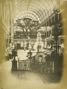 View of the Transept, looking south, The Great Exhibition 1851