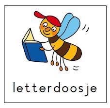 Letters erin van kern 1 en thuis ook oefenen.