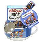 Kellogg's Krispies Bowl and Spoon Gift Set. Argos, Mugs Set, Rice Krispies, Tableware, Spoon, Gifts, Dinnerware, Presents, Tablewares