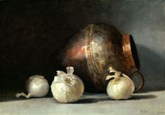 Judith Pond Kudlow - White Onions