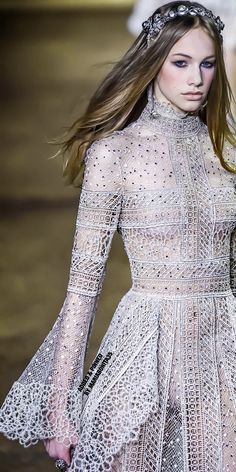 Elie Saab Spring 2016 Couture Collection Highlights