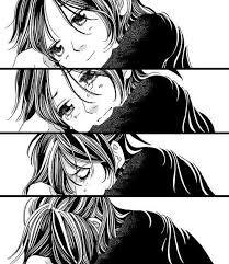imagenes de anime triste