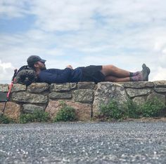 Appalachian Trail thru-hiker taking a well deserved rest and wearing Hiking Socks, Thru Hiking, Appalachian Trail, Habitats, Backpacking, Rest, Clouds, Nature, Backpacker