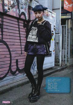 fashion, street fashion, and japanese fashion image fashion, street fashion, and japanese fashion im Japanese Street Fashion, Tokyo Fashion, Harajuku Fashion, Punk Fashion, Korean Fashion, Girl Fashion, Fashion Outfits, Alternative Outfits, Alternative Mode