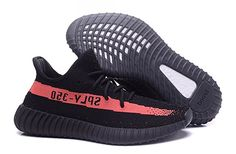 Amazon.com | Adidas Yeezy 350 Boost V2 red and black AM78 | Trail Running