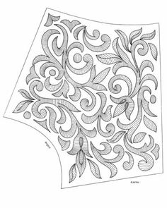images attach c 4 81 552 Hand Work Embroidery, Hand Embroidery Stitches, Hand Embroidery Designs, Embroidery Techniques, Beaded Embroidery, Machine Embroidery, Tambour Beading, Print Patterns, Sewing Patterns