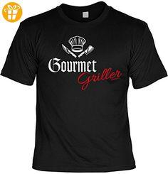 Griller T-Shirt - GOURMET GRILLER - FunHemd für BBQ und Grillen - Shirts mit spruch (*Partner-Link)