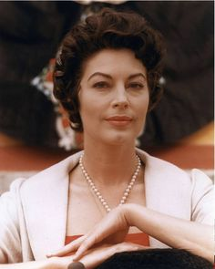 Ava Gardner. by shadees, via Flickr