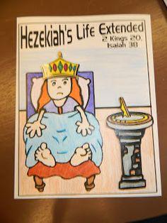 Hezekiahs sick/sundial