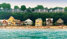 This Ontario Beach Town Is The Perfect Destination For A Summer Escape. Port Stanley on Lake Erie. Beaches In Ontario, The Places Youll Go, Places To Go, Road Trip Playlist, Voyage Canada, Toronto, Ontario Travel, Lake Erie, Erie Beach