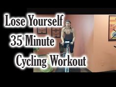 ▶ Cycling Workout: Lose Yourself! In This 35-Min Cycling Workout - YouTube *takes a couple of minutes to get started