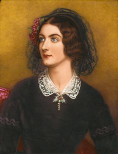 Joseph Karl Stieler  - Lola Montez (1847) Actress and Mistress of King Ludwig I of Bavaria. Painted for die Schönheitengallerie of King Ludwig I of Bavaria