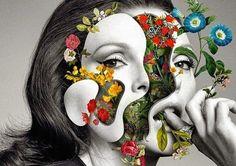 Marcelo Monreal, Faces [UN]bonded, Digital collage