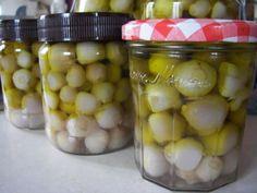 Βολβοί τουρσί Preserves, Pickles, Cucumber, Homemade, Fruit, Vegetables, Food, Preserve, Home Made