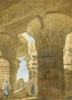 Kom Ombo temple in egypt   Richard Phene Spiers (1838-1916)