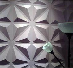 Pointe de diamant  3D walldecor