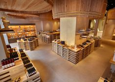 kengo kuma has completed the interior renovation of the kayanoya shop in tokyo, a soy sauce manufacturer who have been in the industry for 120 years. Kengo Kuma, Tokyo Architecture, Architecture Design, Tokyo Shopping, Retail Store Design, Retail Stores, Wallpaper Magazine, Retail Interior, Design Furniture