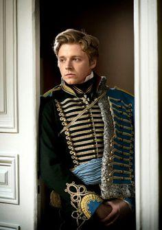Count Nikolai Rostov (Jack Lowden) of War & Peace (2016)