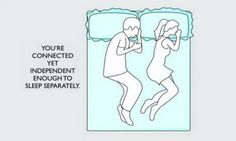 What do your sleeping positions say about your relationship? for more info go to humedentist.com