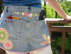 another great use for old jeans!
