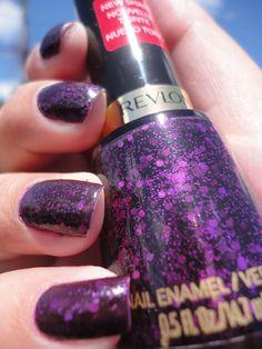 Scandalous Revlon - this nail polish is a dupe of Bad Romance Deborah Lippmann