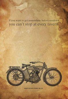 Personalized Harley Davidson Model 10B 1914 Original by drawspots, $27.00