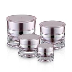 J13 Round Acrylic Jar