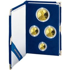 Gold Bullion American Eagle Proof Set of Bullion Coins 0.9999 pure  #Gold #IRA #401K #Investing #Investors #regal_assets_review #Regal_Assets