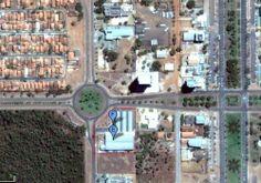 BIRD S EYE...Foto aerea- HIPERMERCADO CAÇULINHA, PALMAS, TO (Supermercado o Caçulinha Ltda)