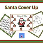 Santa Cover Up is a partner game. To play the game, the players take turns rolling the dice and adding them up. The player covers up the sum with h...