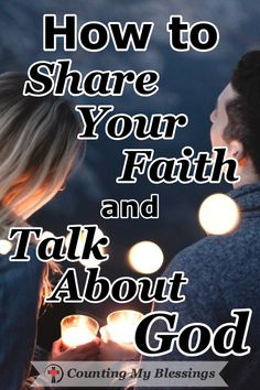 Are you hesitant to share your faith? Here are some how-to tips to help you share your faith and talk about God in ways that will make people want to listen. #howtoshareyourfaith #howtotalkaboutGod #IAM #Faith #CountingMyBlessings #WWGGG Christian Women, Christian Living, Christian Faith, Christian Quotes, I Need Jesus, God Jesus, Raising Godly Children, Christian Resources, Let God