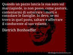 Cartolina con aforisma di Dietrich Bonhoeffer (1)