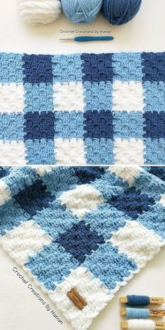Crochet Blanket Edging, Crochet Squares Afghan, Crochet Square Patterns, Crochet Stitches, Knit Squares Blanket, Crochet Baby Blanket Free Pattern, Single Crochet Stitch, Double Crochet, Manta Crochet