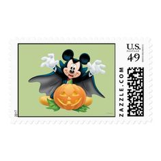Halloween Mickey Mouse 1 Postage