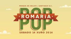 Romaría Pop 2014 en Santiago de Compostela. Ocio en Galicia