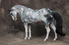 Vigilante, a Beautiful Gray & White model resin.