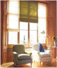 Detailed info on how to make blinds from various fabrics. Step by step instructions even a beginner can follow.