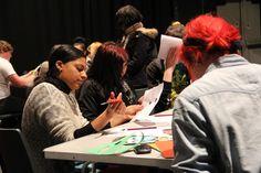 Theatre design 2012 - working hard!