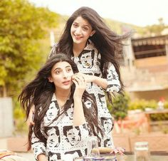 Mawra Hocane and Urwa Hocane #pakistanicelebrities #pakistaniactress