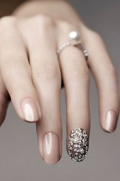 11 Bridal Nail Art Designs So Killer, You Can Flaunt Your Ring With Confidence