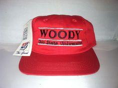 edab5863478 Vtg Woody Ohio State University Snapback hat cap rare 90s Buckeyes Football  ncaa  THEGAME