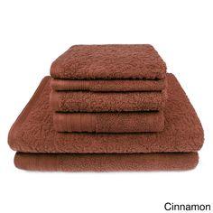 Zero Twist 6-Piece Bath Towel Set
