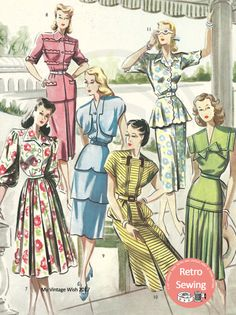 The Haslam System of Dressmaking No. 18 1940's  PDF