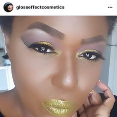 Just another day in the sunlight #motd #lotd #eotd #fotd  @glosseffectcosmetics Loose Eyeshadow Powders in Dark Night, Carribean, and Avocado  @glosseffectcosmetics Matte Lipstick in Olive Patina