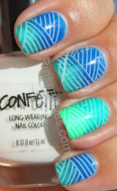 gradient and stamp