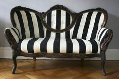Beetlejuice couch - love it!