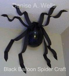 Balloon spider | Holidays | Pinterest